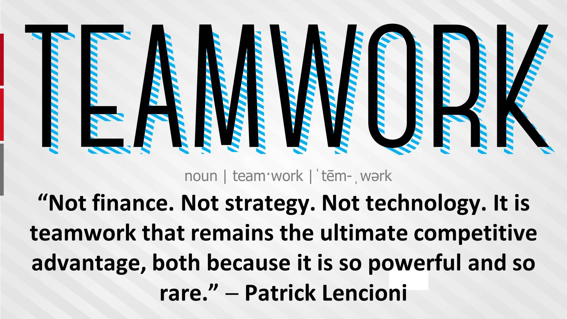 advantage of teamwork Wwwboundlesscom.