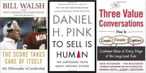 Three Great Sales Books